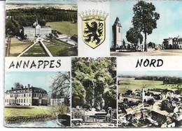 CPSM NORD  ANNAPPES Multivues N°18 C - Villeneuve D'Ascq