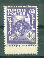 TUNISIE - N° 261** MNH  LUXE SCAN DU VERSO. Bord De Feuille. - Ongebruikt