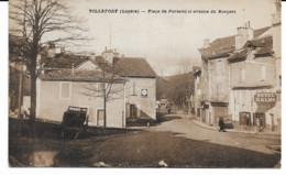 Villefort 48 Place Du Portalet Et Avenue Du Bosquet - Villefort