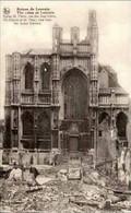 LOUVAIN-LEUVEN - Ruines 1914-1918 - Eglise Saint-Pierre, Vue Des Sept Croix - War 1914-18
