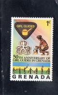 1976 Grenada  Girl Scout - Grenada (1974-...)