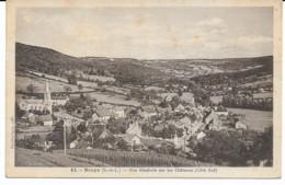Broye 71 Vue Générale Sur Les Châteaux - Andere Gemeenten