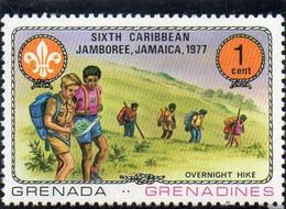 1977 Grenada - 6° Jamboree Caraibico In Giamaica - Grenada (1974-...)