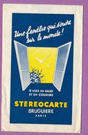 1 Carte Avec Sachet De Protection - STEREOCARTE BRUGUIERE - N° 2385 - La Corse Méridionale - Bonifacio - Estereoscópicas
