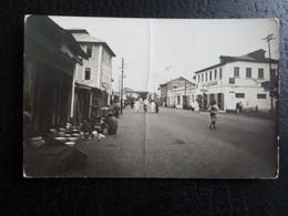 Z33 -  Nigeria - Lagos - S.C.O.A. - Carte Photo Legende Manuscrite Au Verso - 1 Pli Vertical - Nigeria