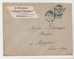 HERAULT: MAIGRON-BOURELLY, Viticulteurs à St Georges/ LSC Pour Arpajon - 1877-1920: Periodo Semi Moderno