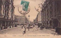 PARIS        2700         Perspective Du Boulevard Raspail , à Droite L'Hôtel Lutetia - Sonstige