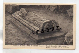 CPA - 36 - CHATEAUROUX - Musée Lapidaire - Tombe D'un Abbé De L'ABBAYE NOTRE DAME DE DEOLS -XIIIe S. -  Pas Courant - Chateauroux