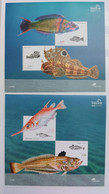 Portugal - 2006 - Neuf/MNH/** - Peixes Da Costa Portuguesa - Unused Stamps