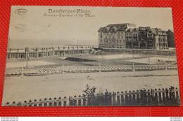 DUINBERGEN   -  Tennis, Casino En De Zee  -  Tennis, Casino Et La Mer - Knokke