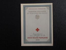 M1 - Carnet Croix Rouge 1959 - Parfait Etat Voir Photos - Red Cross