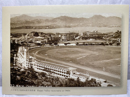Happy Valley Racecourse At 1960s, Hong Kong Postcard - Cina (Hong Kong)