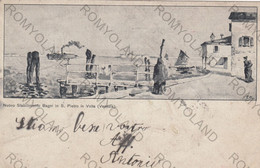 CARTOLINA  S.PIETRO IN VOLTA,VENEZIA,VENETO,NUOVO STABILIMENTO BAGNI,BELLA ITALIA,CULTURA,RELIGIONE,VIAGGIATA - Vicenza