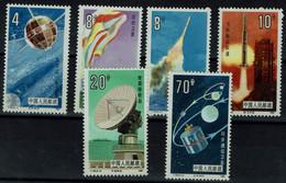 CHINA  1986 SPACE MI No 2046-51 MNH VF!! - Asien