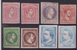 1873 - 74  LOTE CARLOS VII NUEVOS - Carlists