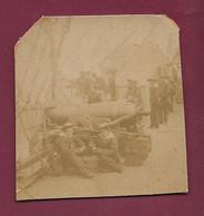 130621B - PHOTO ANCIENNE BATEAU MARINE - Bateau Marin Canon - Boats