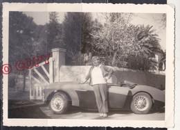 Voiture De Sport à Identifier Tamaris 1971 Beau Format - Cars