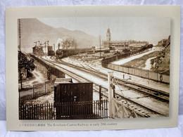 The Kowloon-Canton Railway At Early 20th Century, Train, Hong Kong Postcard - Cina (Hong Kong)