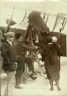 PARIS LE BOURGET BAPTEMES DE L'AIR   17*12CM AVION AVIATION  AVIACION - Aviación