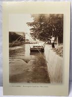 Bowrington Canal At Early 19 Century, Hong Kong Postcard - Cina (Hong Kong)