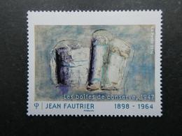 FRANCE VARIETE Sur Le N° 4888 Sans La Valeur ++++TRES RARE ++++  Signé Calves  Voir 2 Scans - Varieties: 2010-.. Mint/hinged