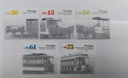 Portugal - 2007 - Neuf/MNH/** - Transportes Públicos Urbanos 1° Grupo - Unused Stamps