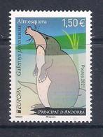 Andorra (French Post) [EUROPA 2021] Endangered National Wildlife - Single Stamp (MNH) - Sammlungen