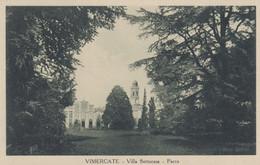 VIMERCATE - (MILANO) - CARTOLINA - VILLA SOTTOCASA - PARCO - Milano (Milan)