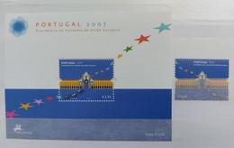 Portugal - 2007 - Neuf/MNH/** - Presidencia Portuguesa Do Conselho Da Uniao Europeia - Unused Stamps