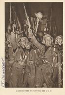 Militari - Ventennio Fascista - Camicie Nere In Partenza Per L' A.O. - - Guerra 1939-45