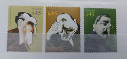Portugal - 2007 - Neuf/MNH/** - Vultos Da Historia E Da Cultura 2°grupo - Unused Stamps
