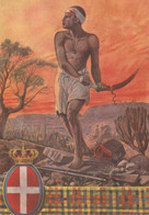 Militari - Ventennio Fascista - V° Battaglione Indigeni Dell'Eritrea - - Guerra 1939-45