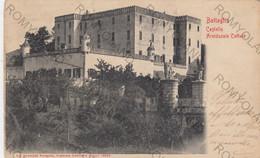 CARTOLINA  BATTAGLIA,PADOVA,VENETO,CASTELLO ARCIDUCALE CATAJO,BELLA ITALIA,STORIA,RELIGIONE,MEMORIA,VIAGGIATA 1908 - Padova