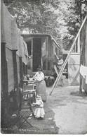 FETE FORAINE - LA VIE DU FORAIN - ROULOTTE - Circulé 1910 - - Other