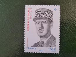France Timbres  NEUF - Année 2020 - YT N° 5444 - Général De Gaulle - Unused Stamps