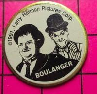 621 Pin's Pins / Beau Et Rare / THEME : CINEMA / DUO DE COMIQUES LAUREL ET HARDY - Cinema