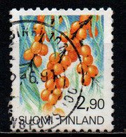 FINLANDIA - 1991 - RAMNO - PIANTA FINLANDESE - USATO - Usados