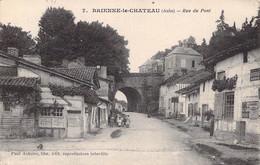 10 BRIENNE Le CHATEAU - Rue Du Pont. Au Dos Cachet : GEPRUFT .. Prufungstelle - Sin Clasificación