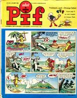 """Vaillant Le Journal De Pif N°1211 - Récit Complet De Jacques Flash L'homme Invisible """" L'étrange Safari"""" - Vaillant"""