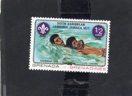 1977 Grenada Grenadines - 16° Jamboree Caraibico In Giamaica - Grenada (1974-...)