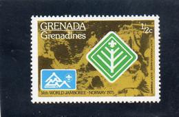 1975 Grenada Grenadines - 14° Jamboree Mondiale  In Norvegia - Grenada (1974-...)