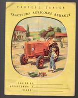 Protège Cahier TRACTEURS AGRICOLES RENAULT (une Déchirure Sans Manque) (M2105) - Omslagen Van Boeken