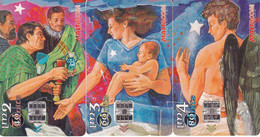 MALTA - Puzzle Of 3 Cards, Christmas 1998, Seasons Greetings, Tirage 10000, 12/98, Used - Malta