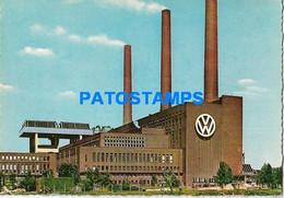 163061 GERMANY WOLFSBURG FACTORY VW WERK POSTAL POSTCARD - Non Classés