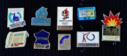 """Lot De 9 Pin's """"FRANCE-TELECOM"""" - Telecom Francesi"""