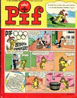 """Vaillant Le Journal De Pif N°1220 - Récit Complet De Bob Mallard Et Puchon """"L'hydravion Englouti"""" - Vaillant"""