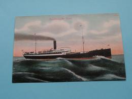 Postdampfer ESNE ( A. N. H. 3 - 1908 ) Anno 19?? ( See / Voir Photo ) ! - Dampfer