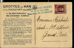 Houyoux  --  NAMUR 1923 NAMEN - Roller Precancels 1920-29