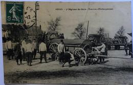 ARRAS.- Régiment Du Génie - Exercices D'Embarquement - Arras