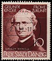 Dantzig 1939. ~ YT 255 à 57* - Recherches Scientifiques - Danzig